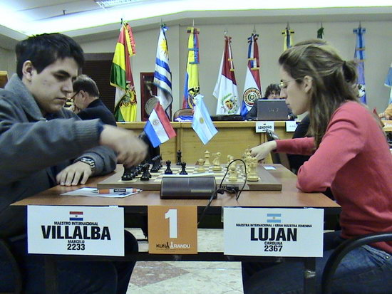 Marcelo Villalba vs Carolina Luján