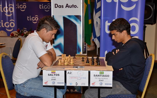 Adrian Saltos Velez vs Santiago Yago de Moura