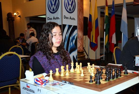 Valentina Jorquera, Campeona Sub 20 años 2012